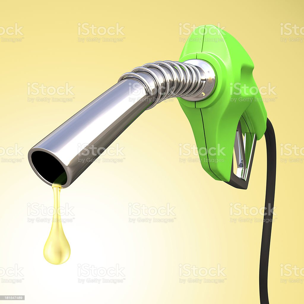 Gasoline Drop royalty-free stock photo