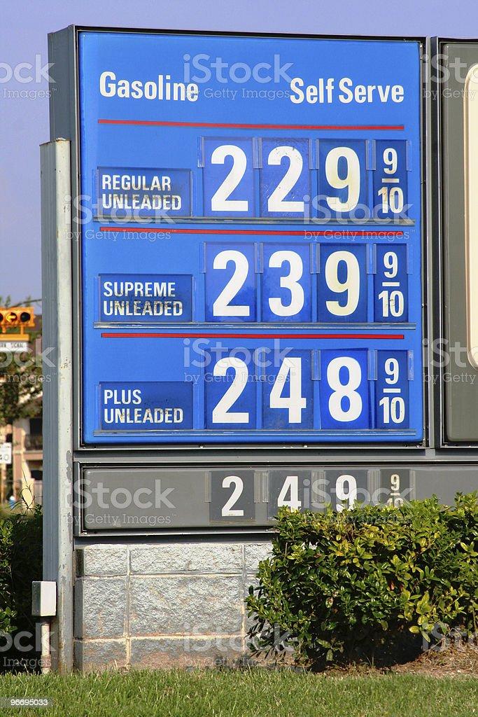 Gasoline Prices stock photo