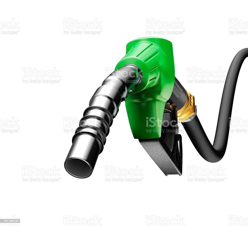 Gasoline pump stock photo