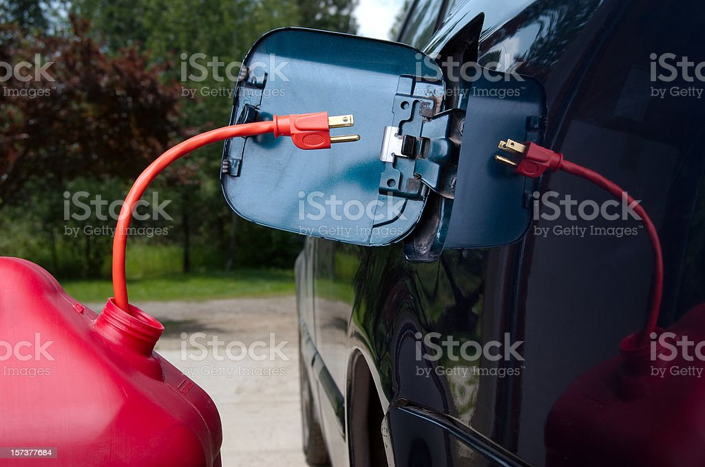 Gasoline Replacement royalty-free stock photo