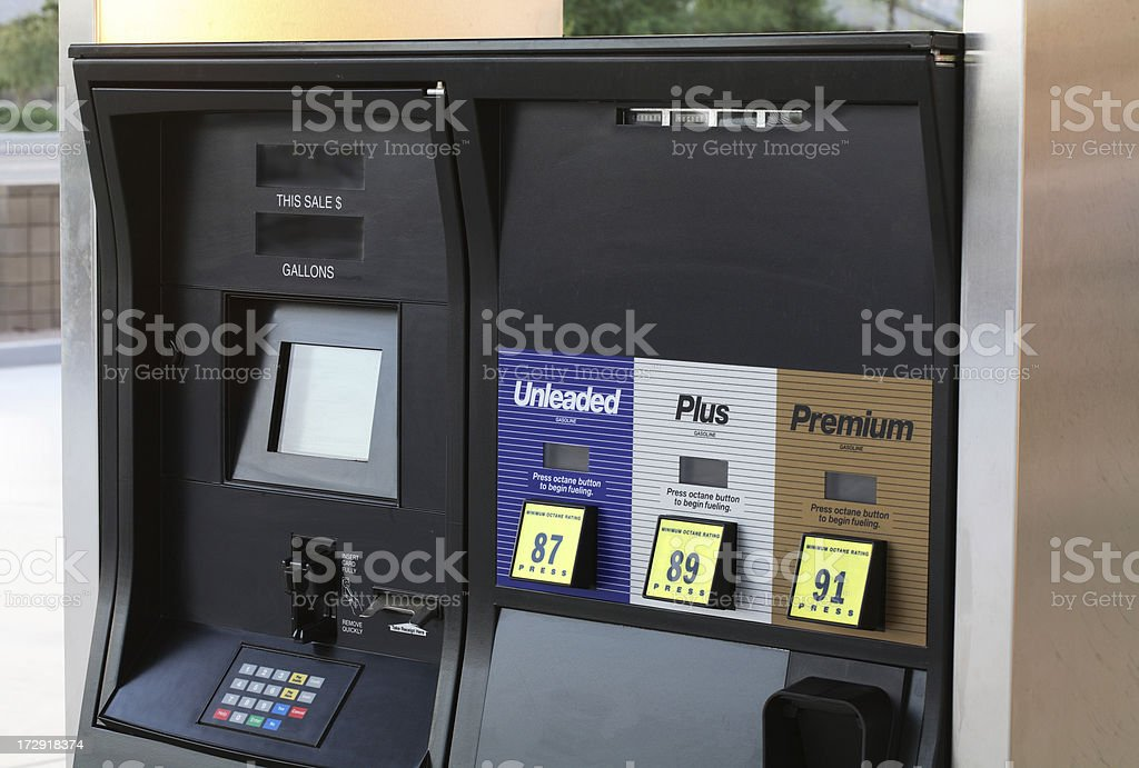 Gaspump stock photo