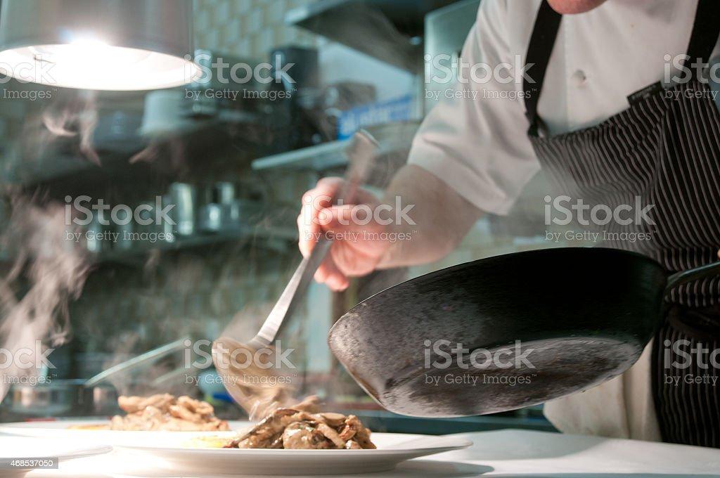 Gastrokochen stock photo