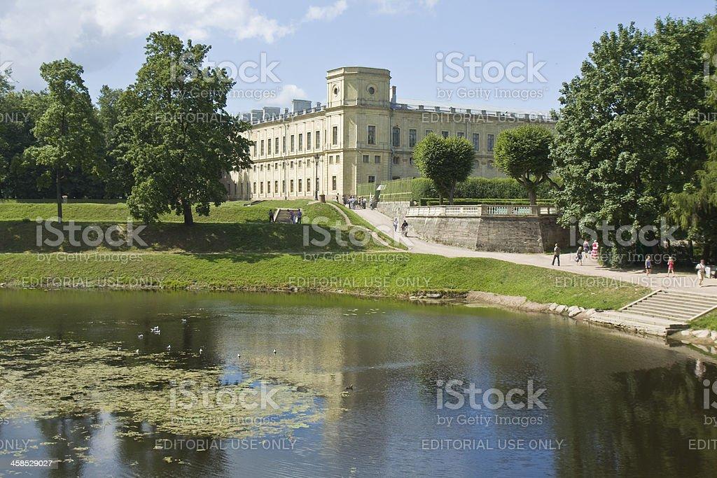 Gatchina, palace royalty-free stock photo