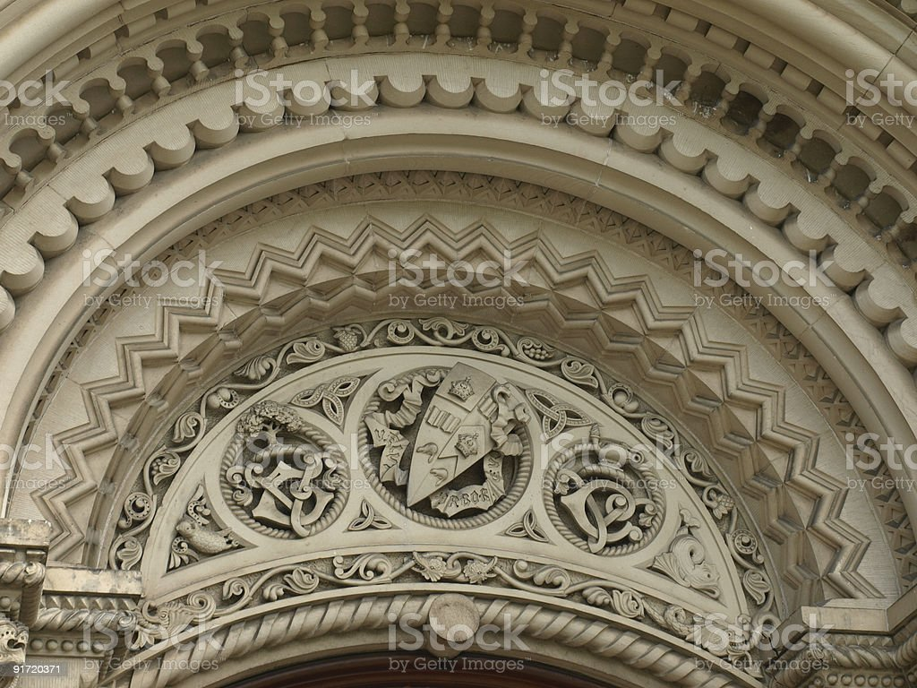 Gate Arch at University College Building royalty-free stock photo