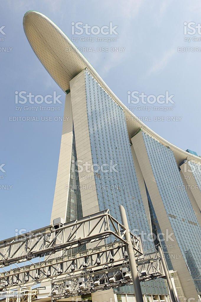 ERP Gate in Singapore stock photo