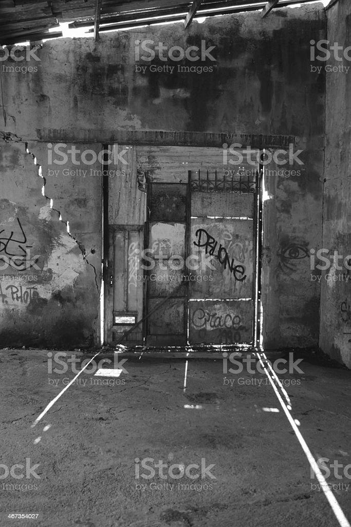 Gate of heaven stock photo