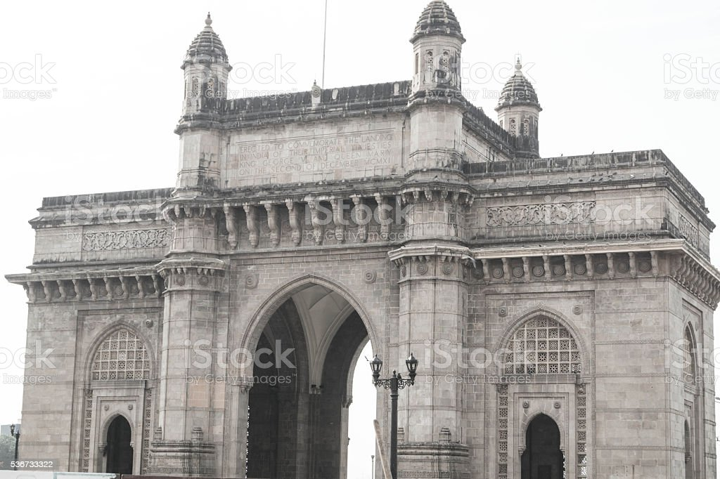 Gate of India stock photo