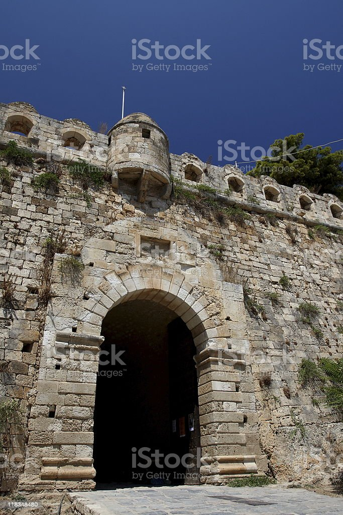 Gate of the Fortezza royalty-free stock photo