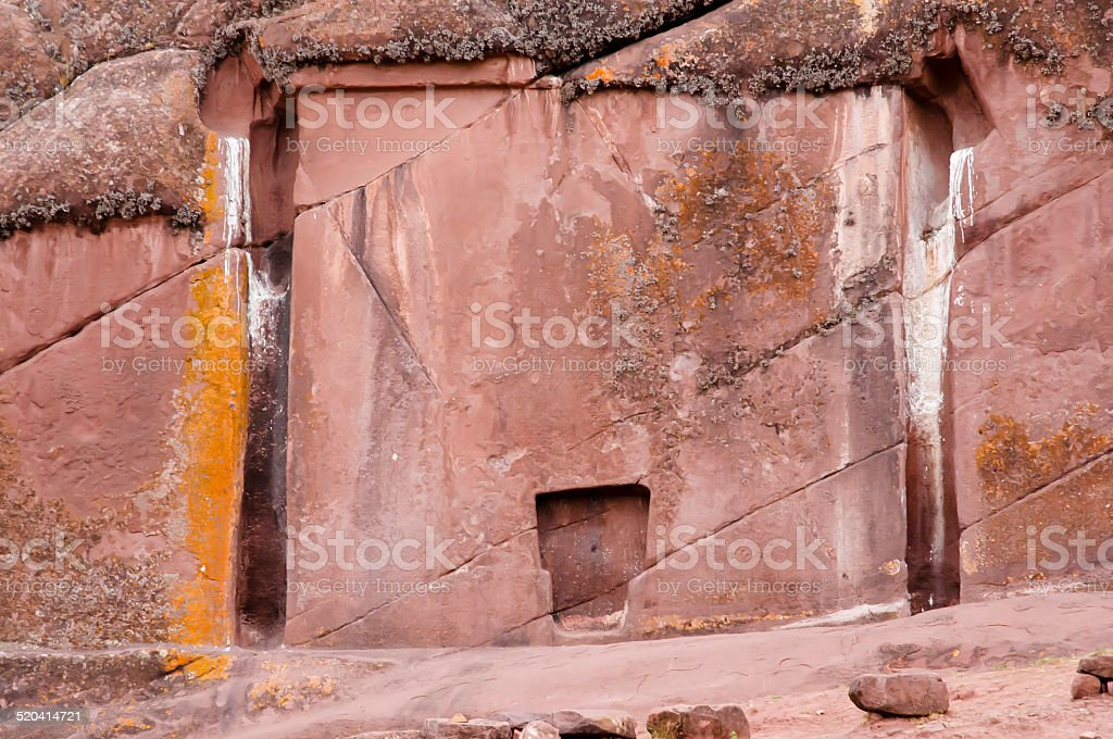 Gate Of The Gods - Peru stock photo