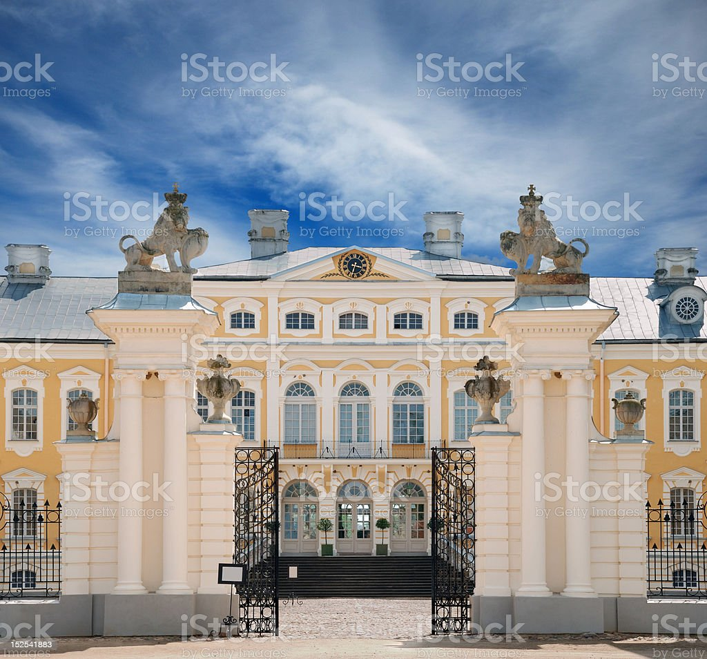 Gate. royalty-free stock photo
