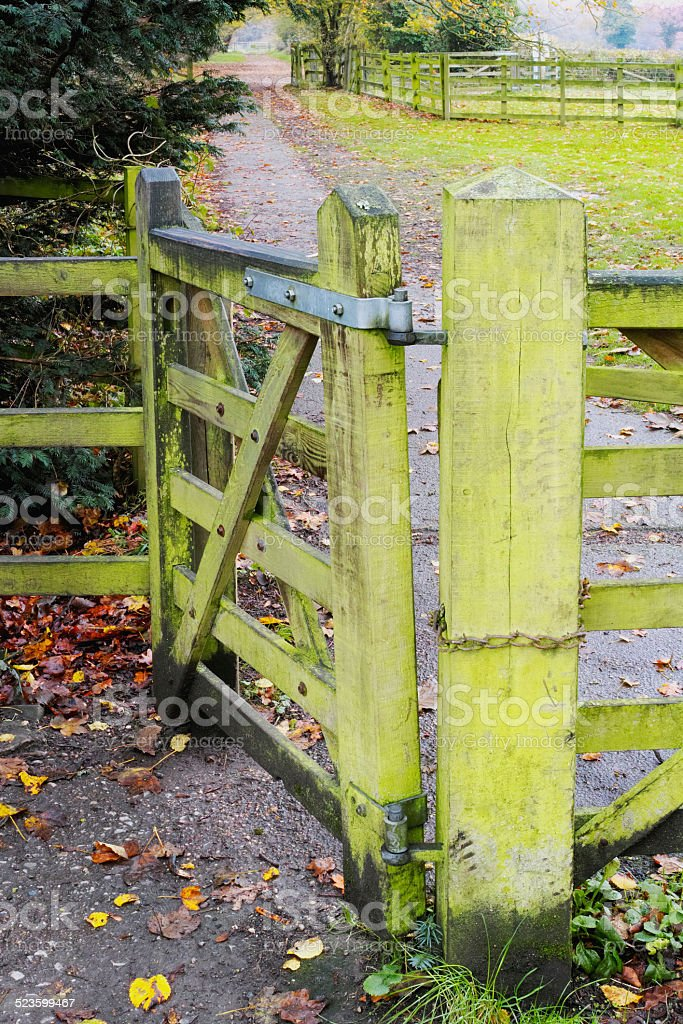 gate stock photo