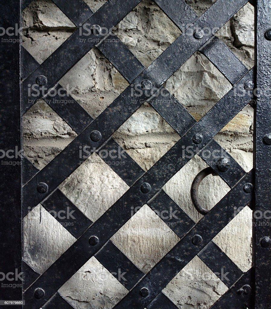 Gate. stock photo