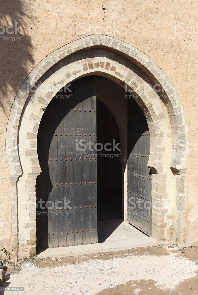 Gate to the Medina royalty-free stock photo