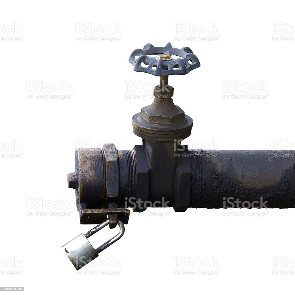 Gate Valve stock photo