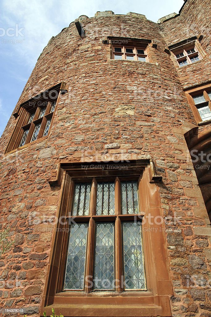 Gatehouse Windows stock photo