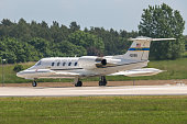 USAFE Gates Learjet 35 at ILA Berlin Air Show 2014