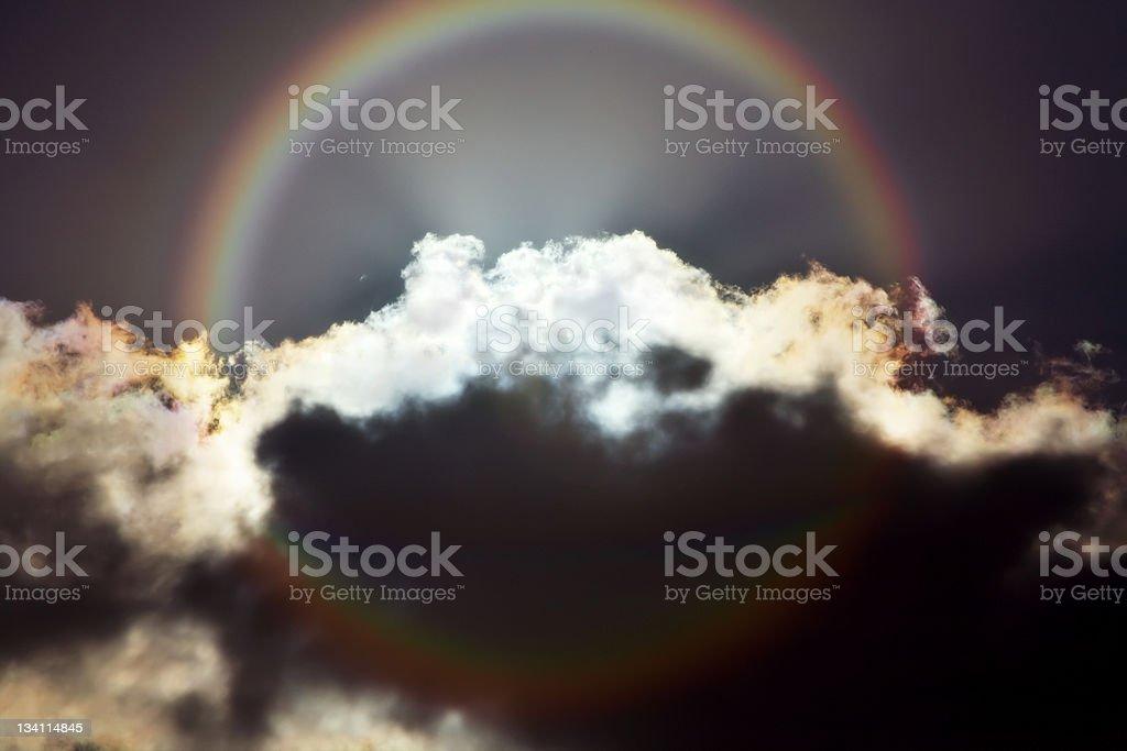 Gates of Heaven royalty-free stock photo