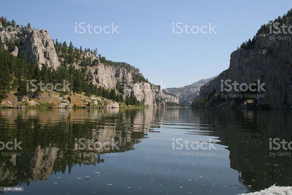 Gates of the Mountain Wilderness Area stock photo