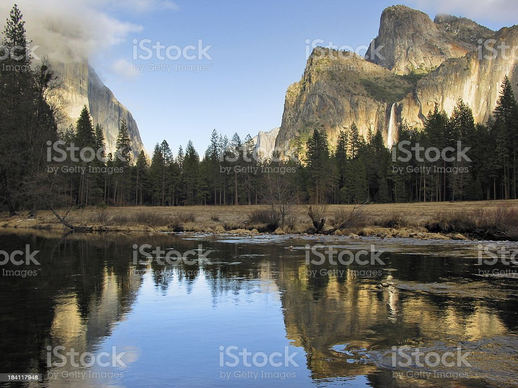 Gates of the Valley royalty-free stock photo