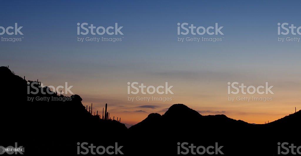 Gates Pass Sunrise stock photo
