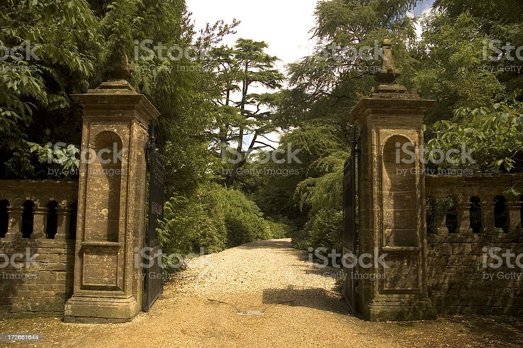 Gates stock photo