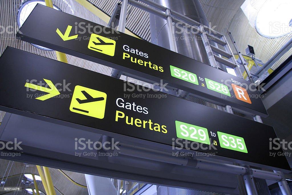 gates royalty-free stock photo
