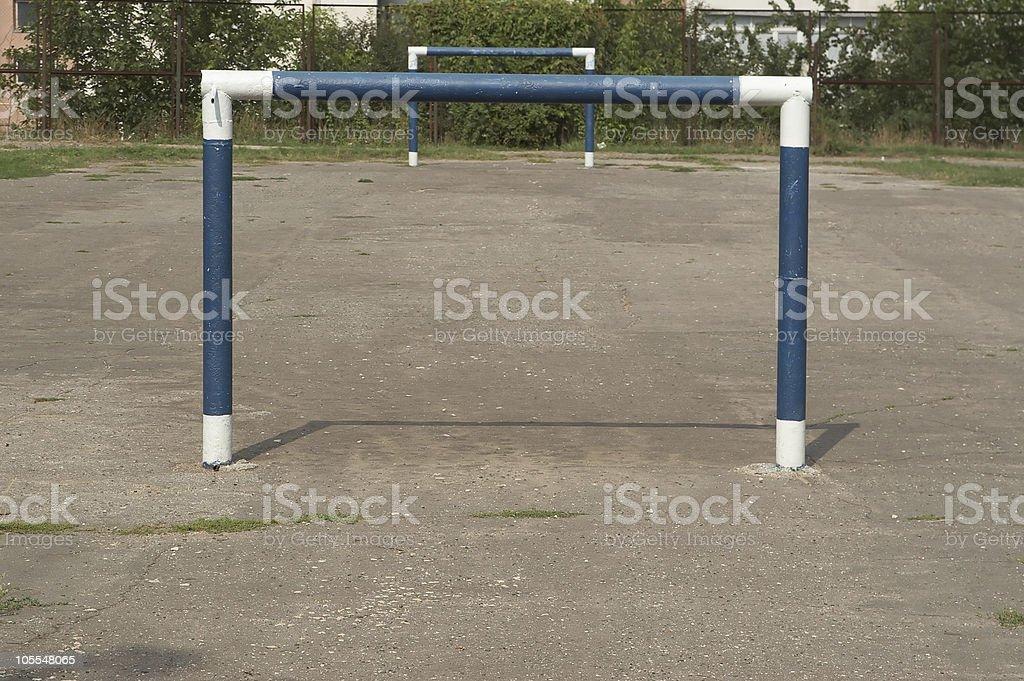 Gates School stadium stock photo