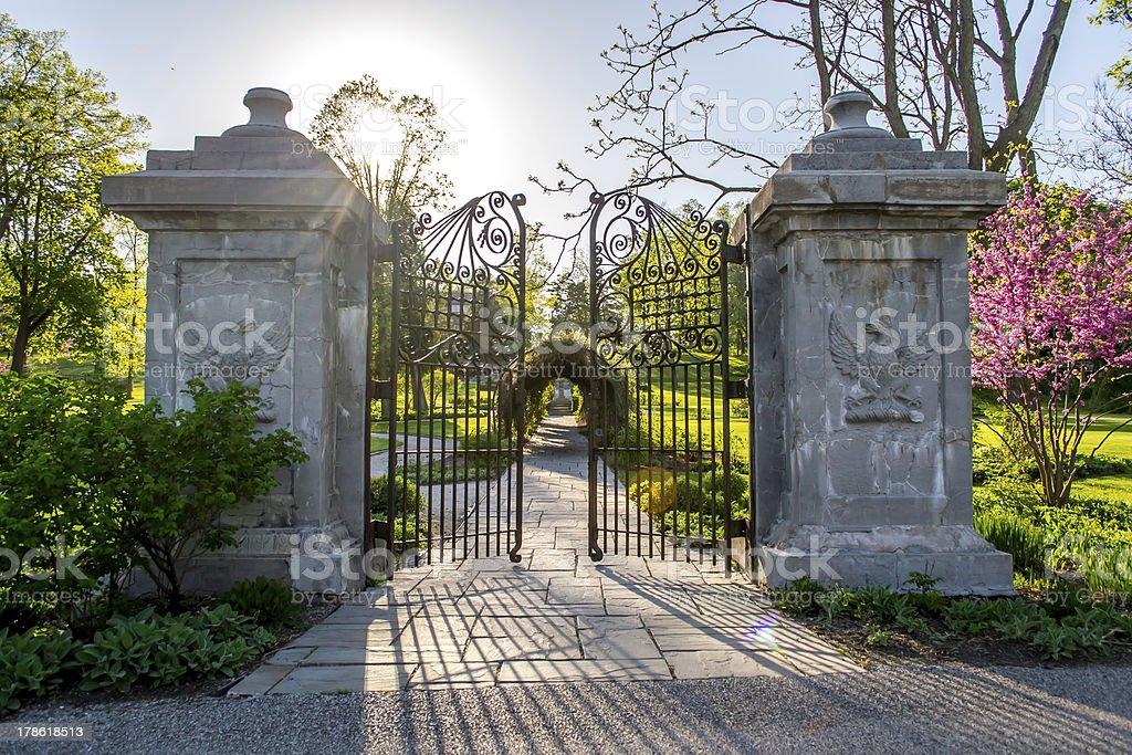 Gates to Heaven royalty-free stock photo