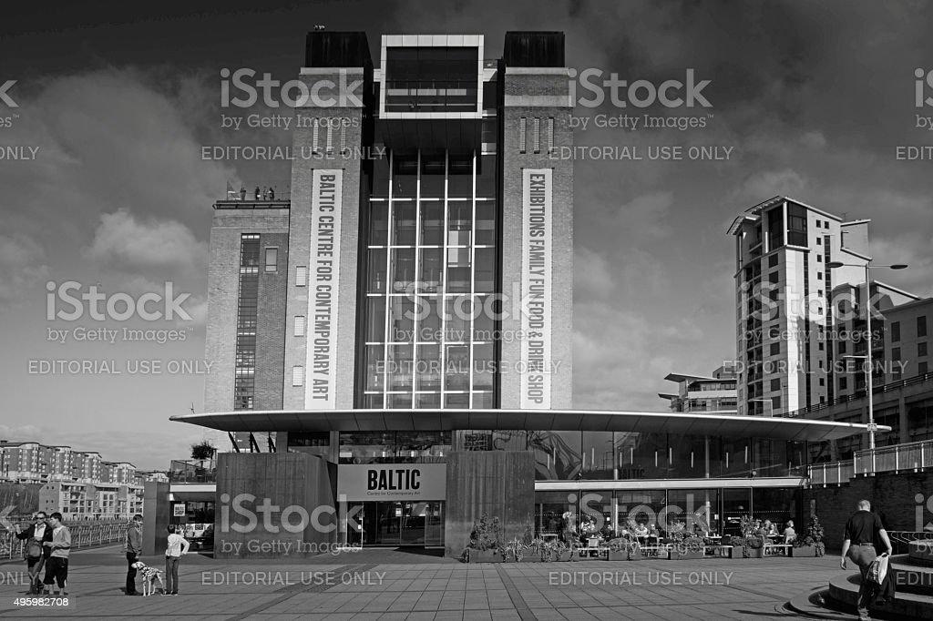 Gateshead Quayside stock photo