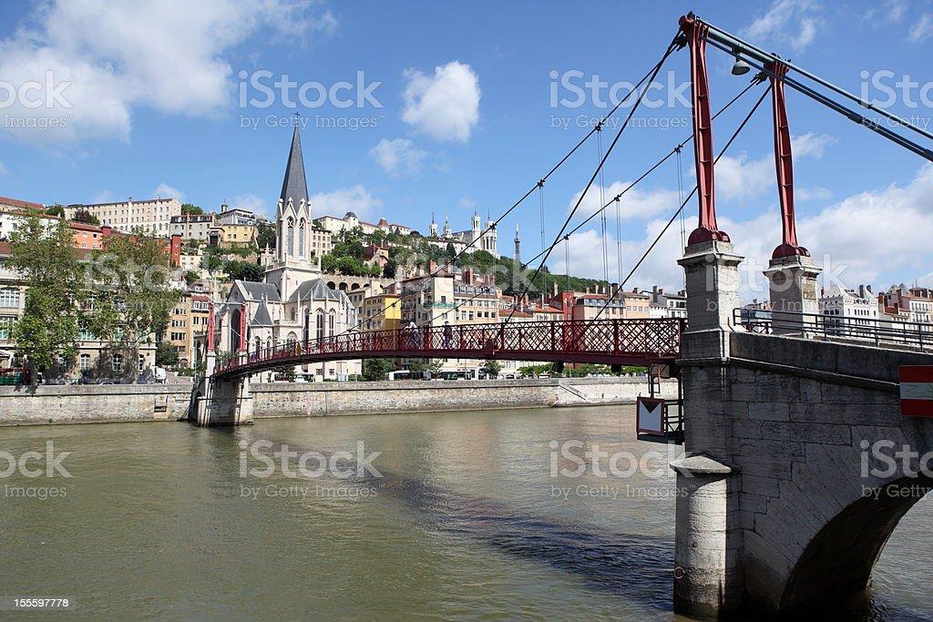 Gateway Abb? Paul Couturier in Lyon, France stock photo