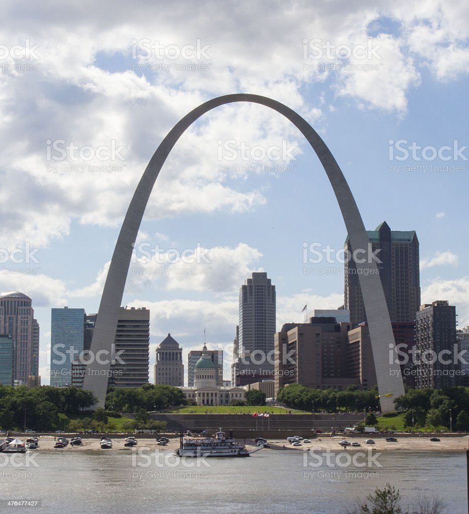 Gateway Arch stock photo