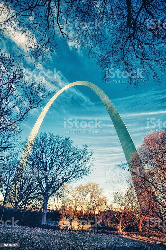 Gateway Arch stock photo