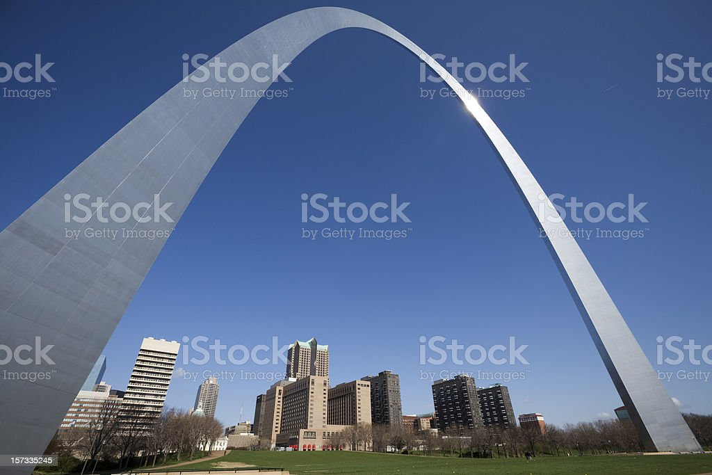 Gateway Arch Saint Louis stock photo
