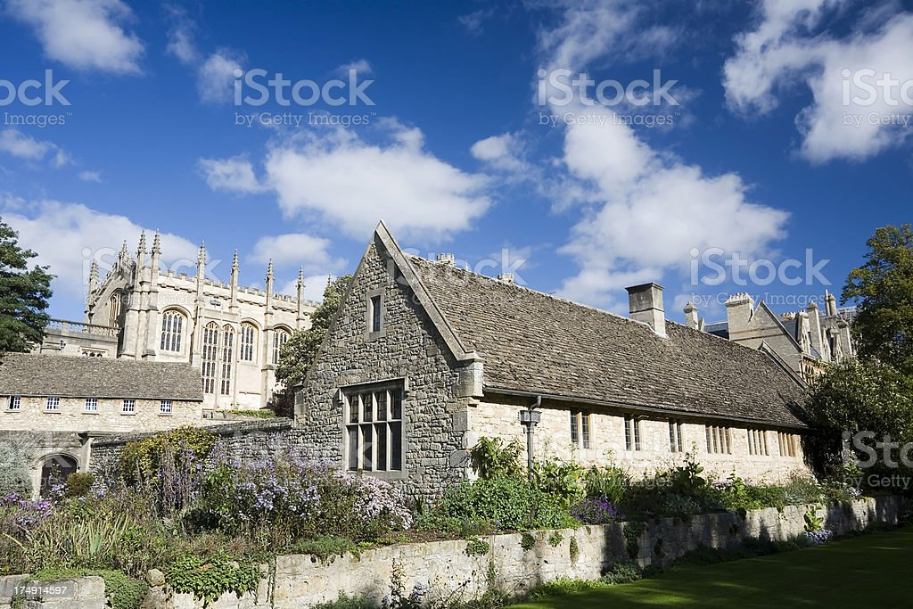 Gateway Cottage, Christchurch College, Oxford royalty-free stock photo