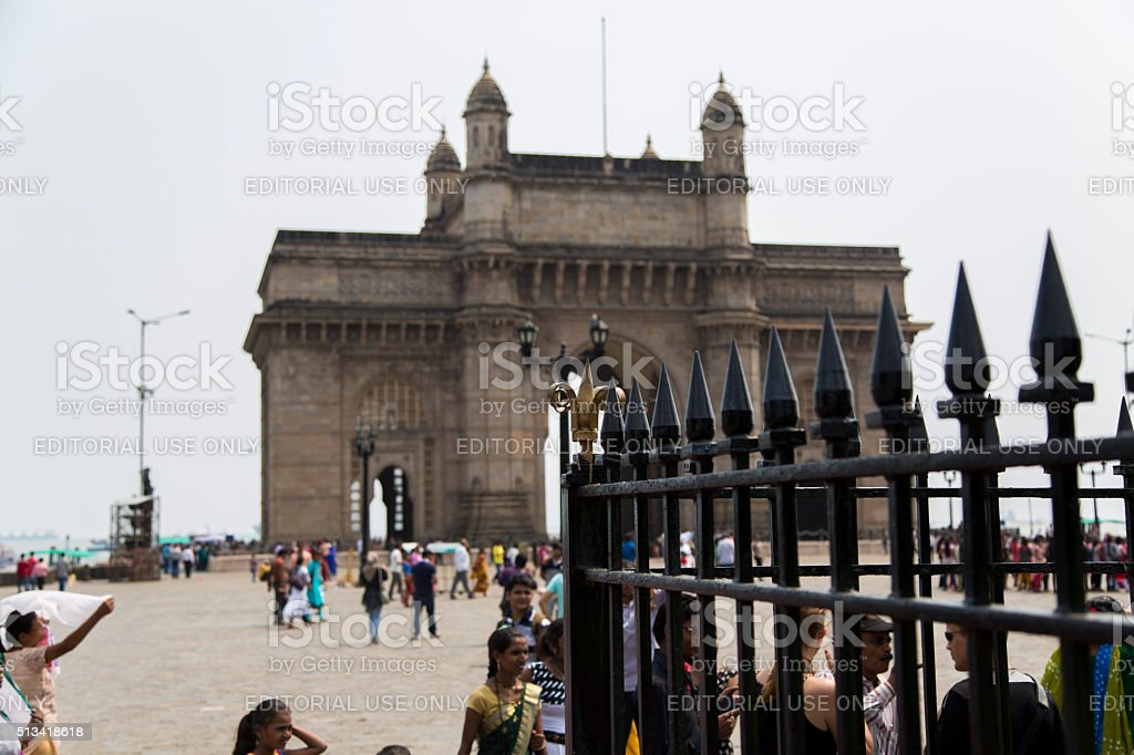 Gateway of India in Mumbai, India stock photo