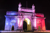 Gateway of India, Mumbai - Colorful Night View