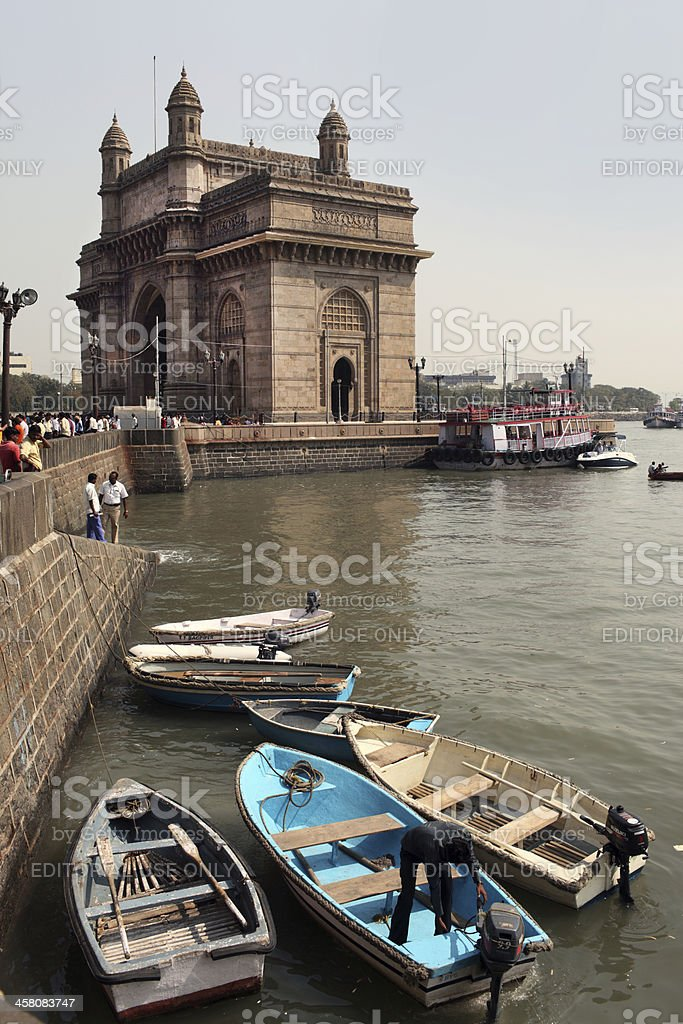 Gateway of India royalty-free stock photo