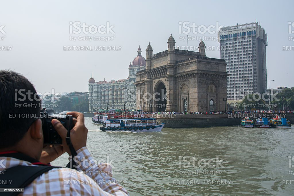Gateway of India stock photo