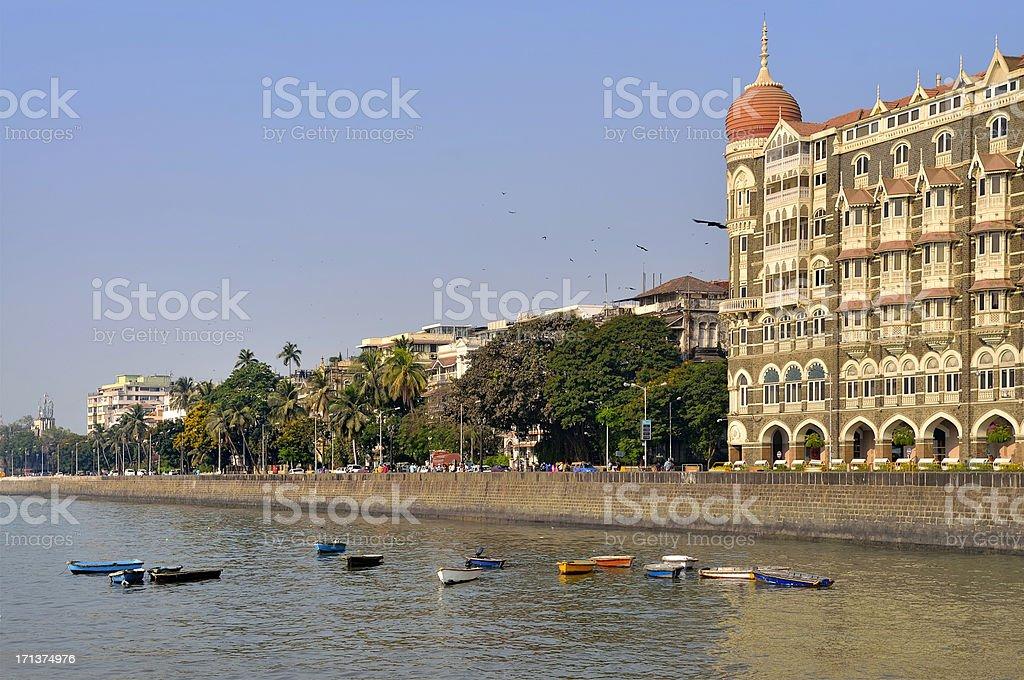 Gateway Of India Waterfront royalty-free stock photo