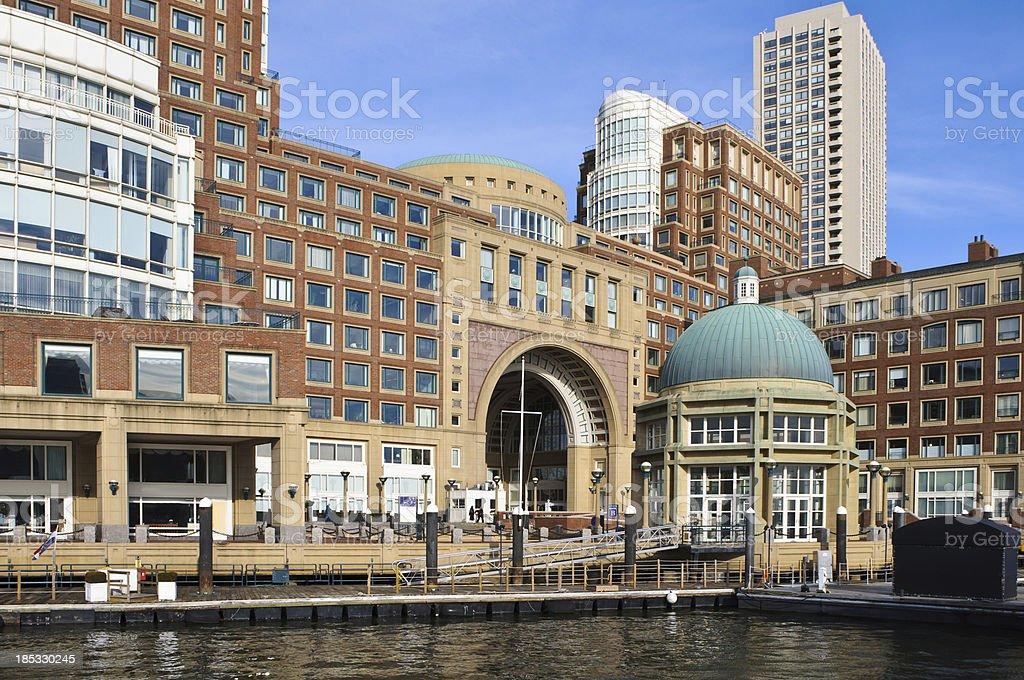 Gateway to Boston stock photo