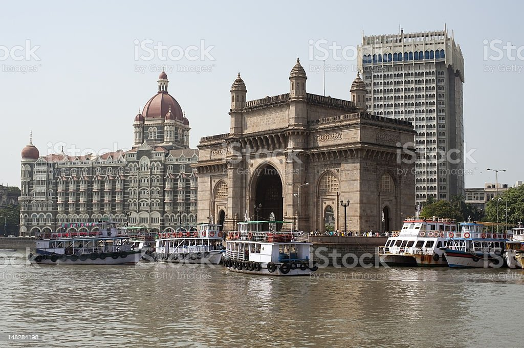 Gateway to India, Mumbai. stock photo