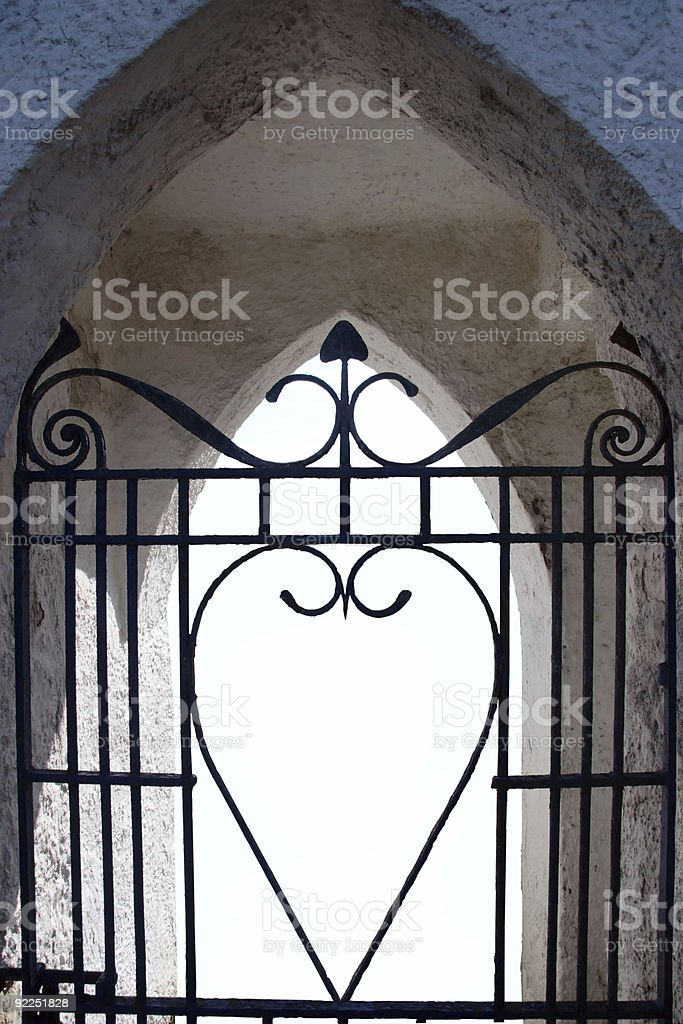 gateway to love stock photo