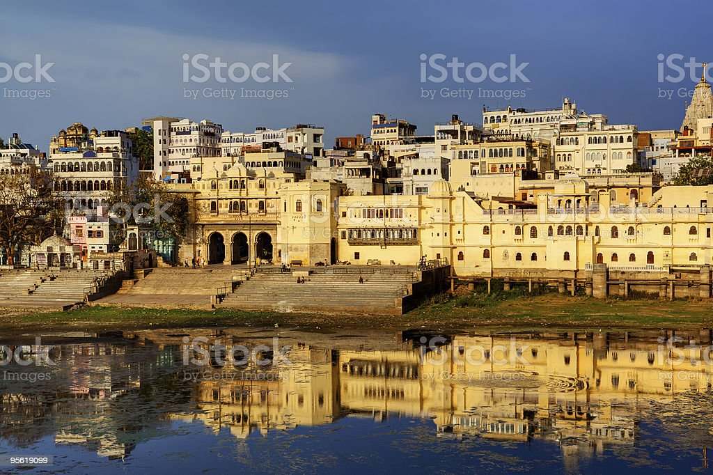 gath of Udaipur at the sunset rajasthan india royalty-free stock photo