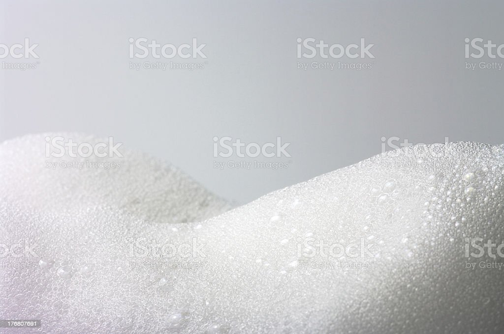 gather foam royalty-free stock photo