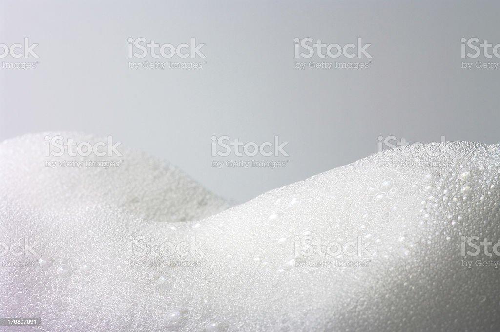 gather foam stock photo