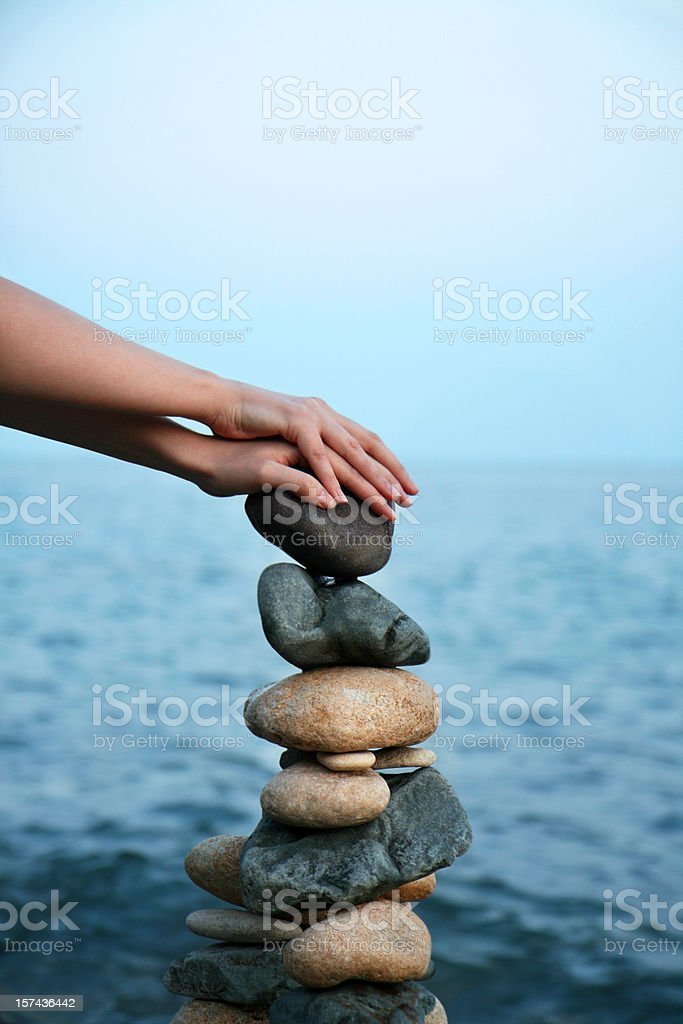 gather strength from nature royalty-free stock photo