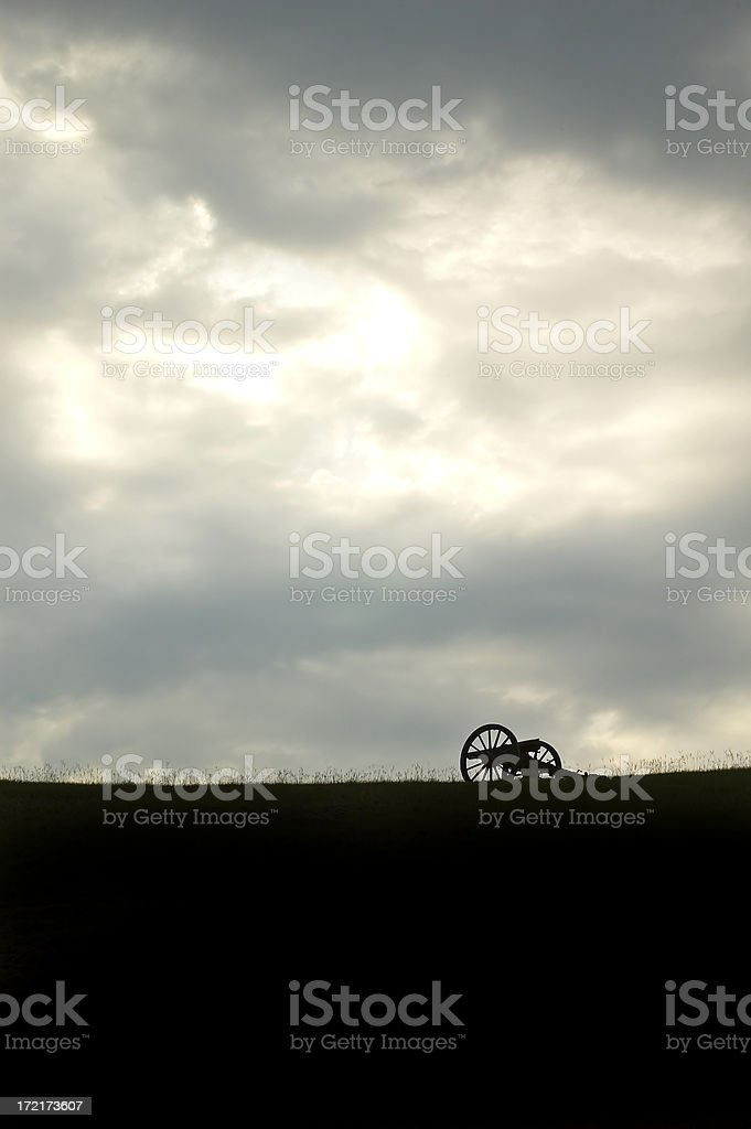 Gathering Storm stock photo