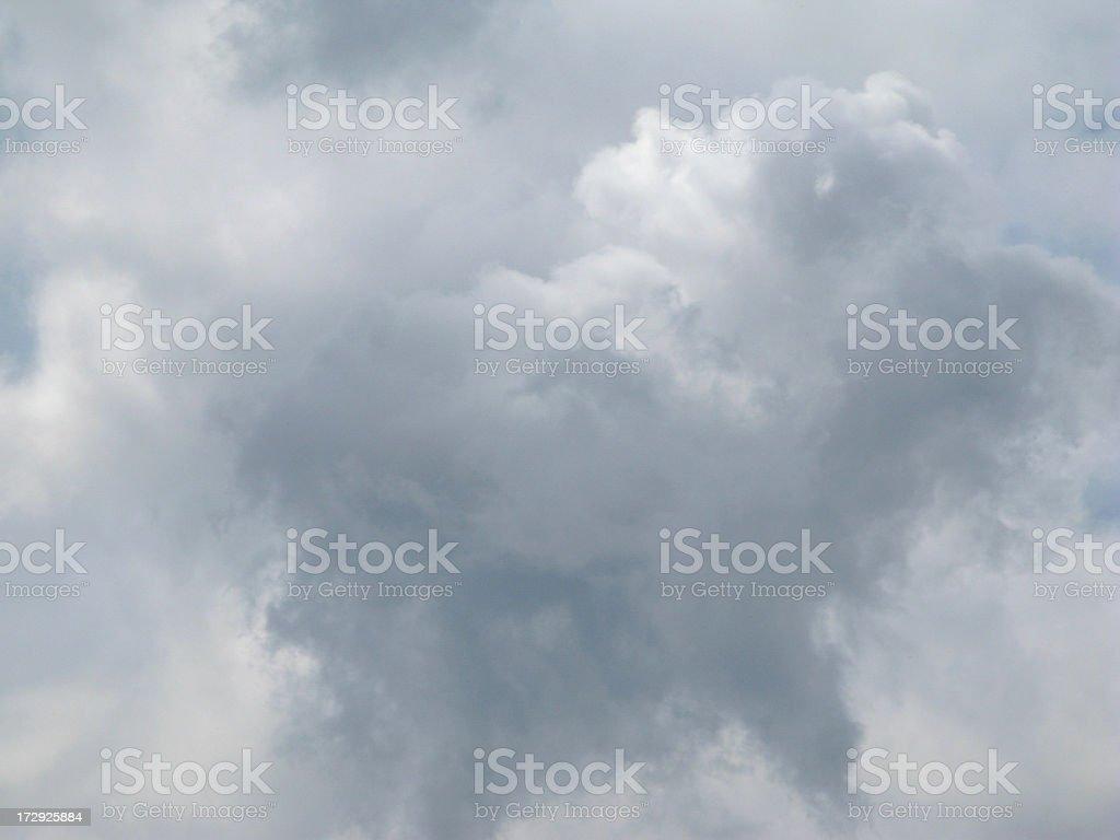 Gathering storm. royalty-free stock photo