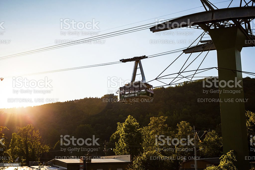 Gatlinburg attraction stock photo
