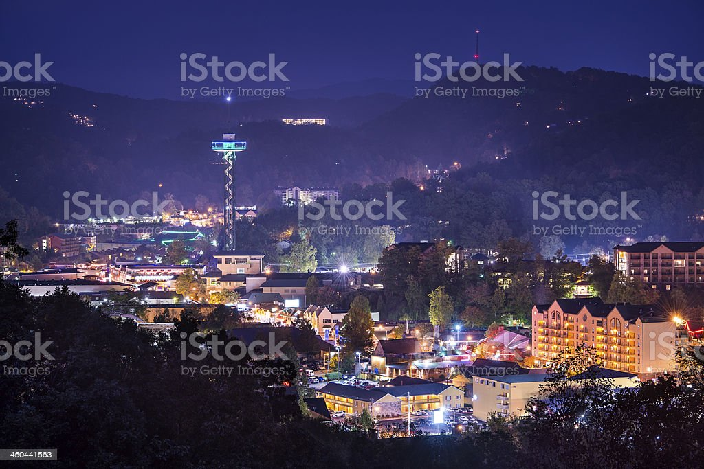 Gatlinburg stock photo